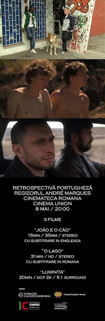 André Marques retrospective in Romania